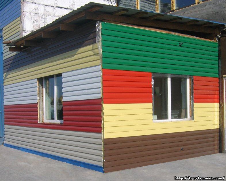 Всё об успешном применении сайдинга, фасадных панелей, водос.
